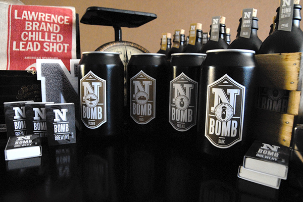 N-BOMB Brewing,beer,Label,brewery,vintage,american,Classic,Promotion,promo
