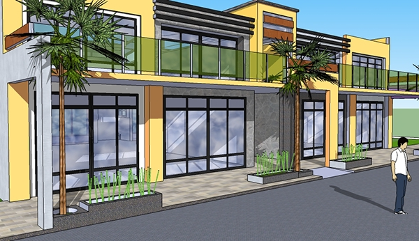 Pics For 2 Storey Commercial Building Design