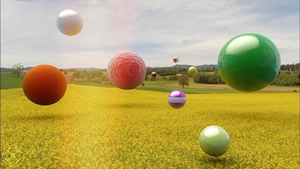 Sphere Project, 3D Motion Tracking with Cinema 4D on Behance