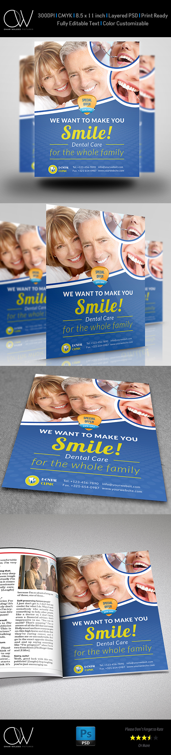 dental flyers