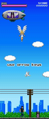 axe excite angels 8-bit 8 bit video game old school Pixel art