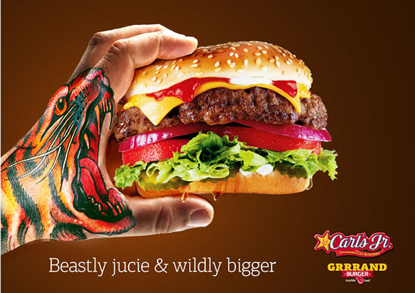 Carl's Jr Ad on Behance