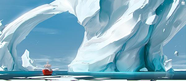Iceberg by Ruslan Safarov