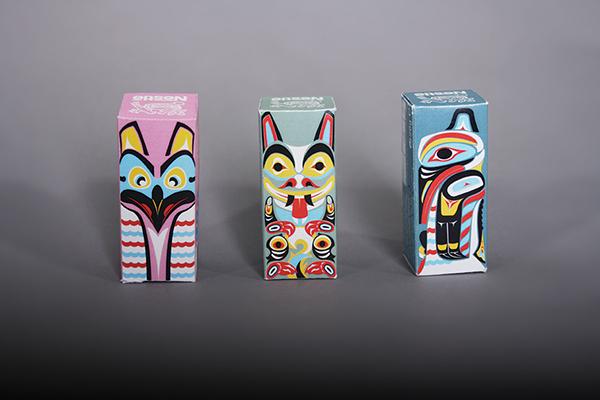 Smarties: Totem Thrill on Behance Smarties Box Design