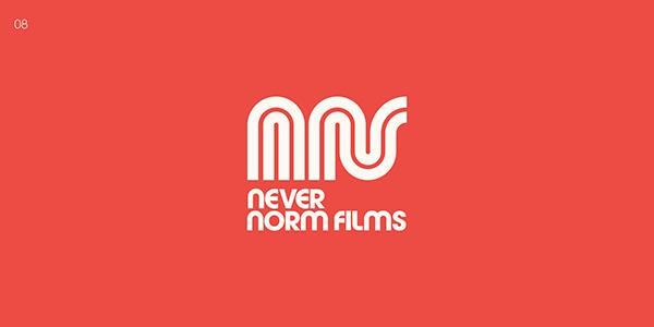 Never Norm Films - LA Film Production Logo Project