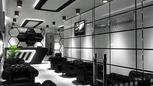 Salon De Thé Dely Brahim Alger On Behance