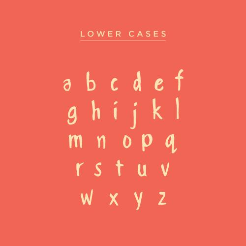 handwritten Brush font font