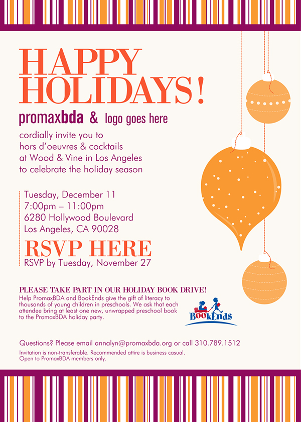 Member holiday party email invites on behance thank you pronofoot35fo Gallery