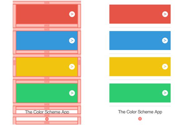 The Color Scheme App on Behance