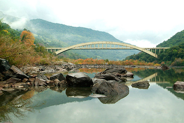 natureza Nature paisagens Landscape geada rio river
