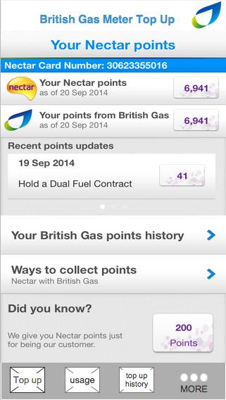 British Gas prepay app wireframes on Behance