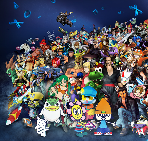 Playstation | 20 Years of Characters on Behance