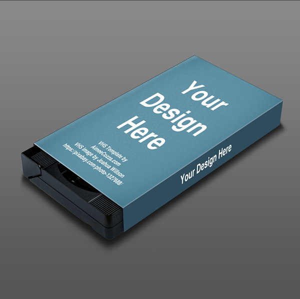 FREE VHS Mockup Sleeve on Student Show