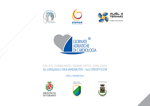 Events congress sismed Emanuele Catena Visual Communication Corporate Identity brochure