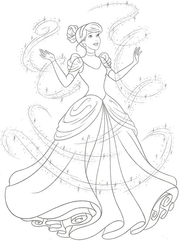 Line Art Guide : Disney princess new redesign style guide art on behance
