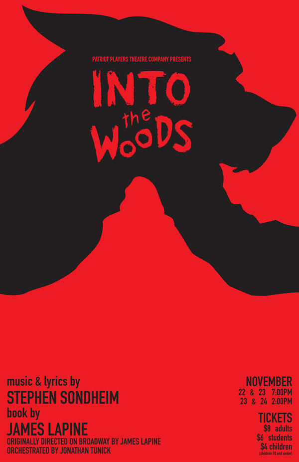 into the woods character posters on behance