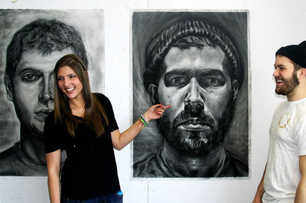 Examples Of Work From My Students RIT On Behance - 40 amazing examples self portrait photography