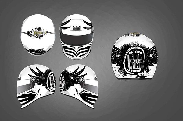 Helmet design concept on behance