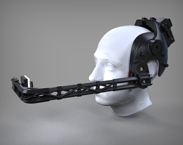 Head Mounted Facial Motion Capture Rig on Behance