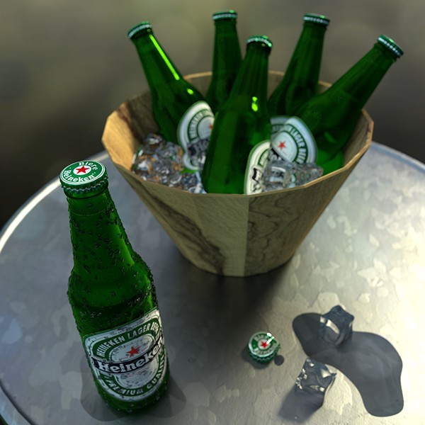 3D blender CG imael Conception