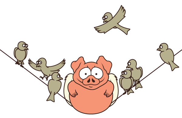 Parable The Pig And Chicken: PIGS & WINGS Website (Concept) On Behance