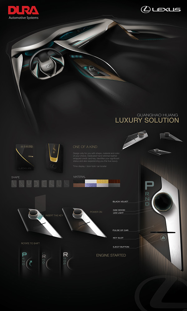 Dura next generation shifter design on ccs portfolios for Ccs interior design