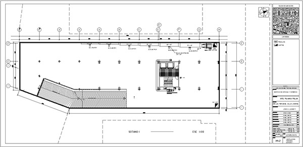 offices and commercial building project 1 254 m2    2003 on