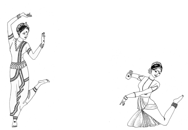 Kathak Dance Drawing Classical Dances of India