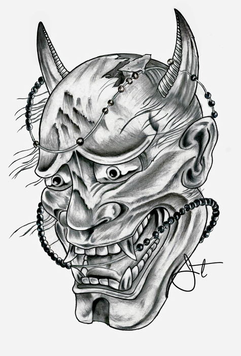 Hannya Mask On Behance