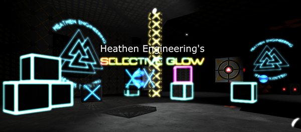 Heathen's Selective Glow Shader Essentials on Behance