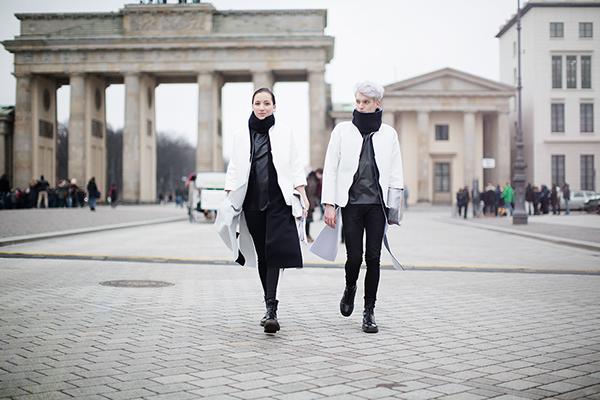 Berlin Fashion Week Street Style On Behance