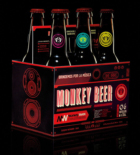 Monkey Week Indie Music Fest / Monkey Beer / Direct Mkt on ...