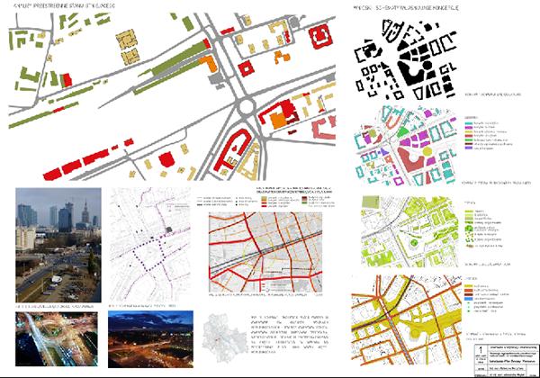 Urban Design Character Analysis : Urban design city centre on behance