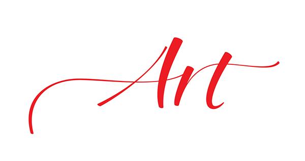 art lettering cola pen beziers vectors