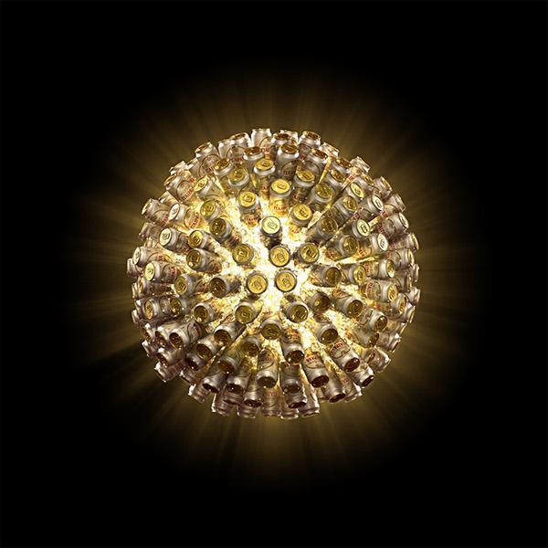 Itaipava Globe by Gabriel Bueno