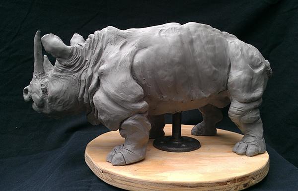 #Rhino,#animals,#lighting ,#model ,#illustration