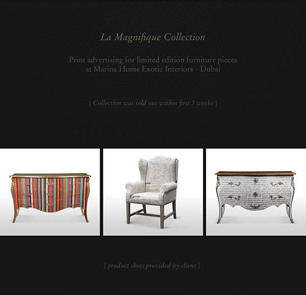 Marina Home Furniture Print Advertising On Behance