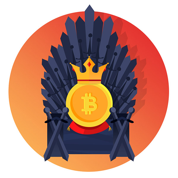 Ilustrace – Bitcoin