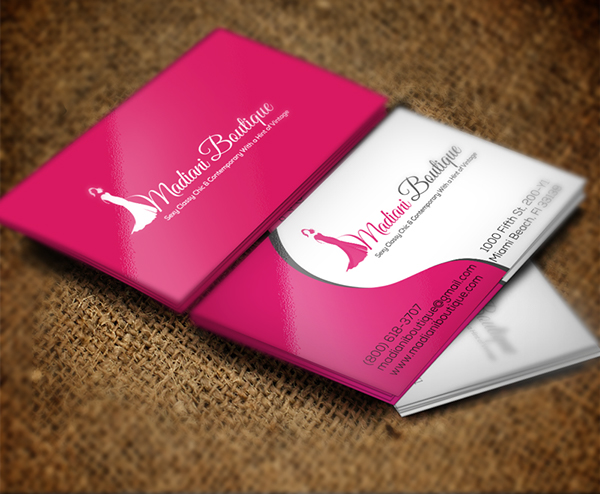 madiani boutique business card - Boutique Business Cards
