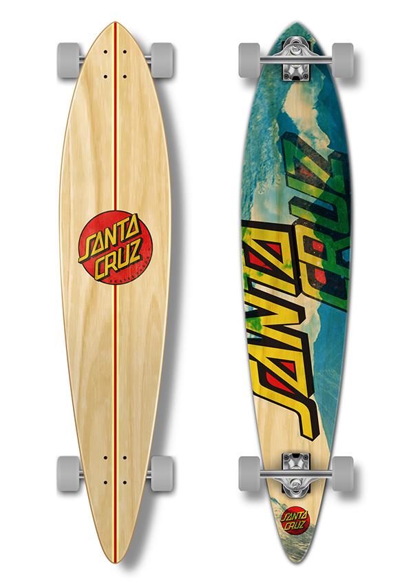 Longboard decks on behance for Longest decking boards