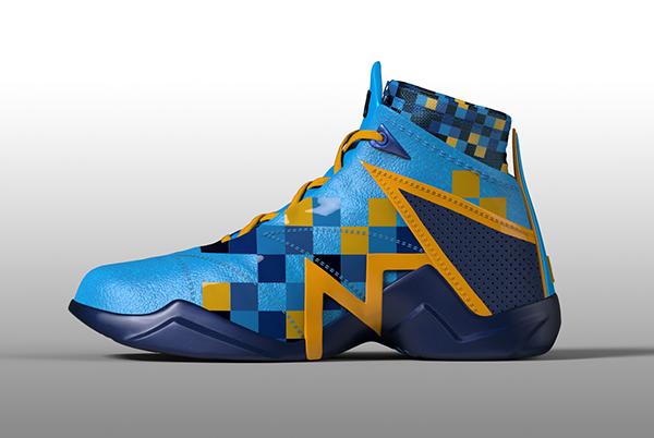 Nate Robinson basketball shoe design on