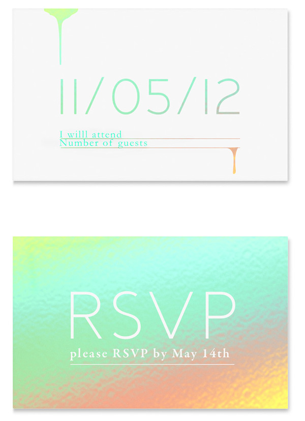 Event invite for contagious magazine on behance for Rsvp stand for on an invitation