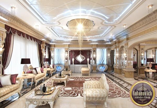 Arabic house design from LUXURY ANTONOVICH DESIGN on Behance