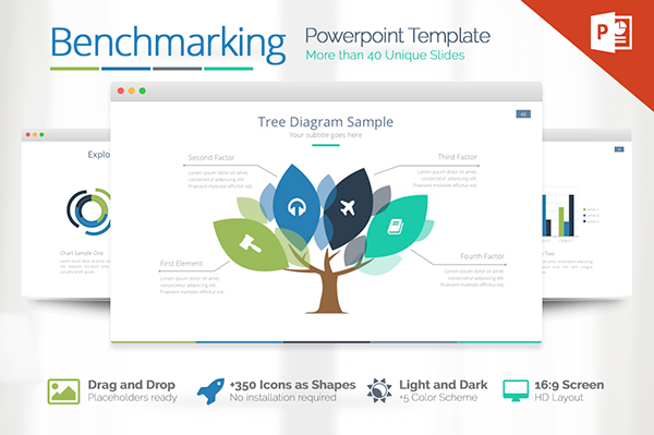 Benchmarking Powerpoint Presentation Template On Behance