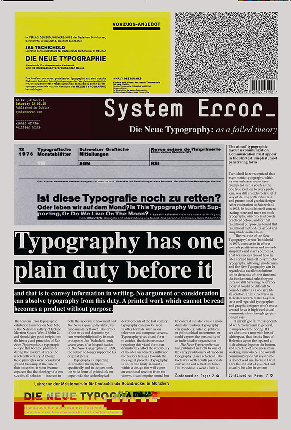 System Error Editorial Design By Eric Lynch