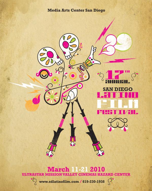 Latino Film Festival San Diego Poster 17th San Diego Latino Film