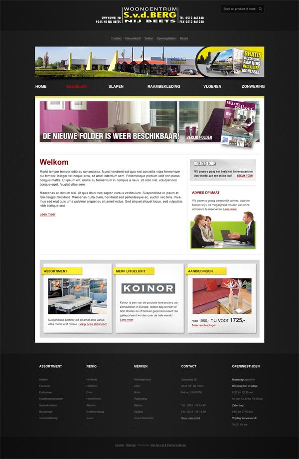jeroen rijpstra wooncentrum SvdBerg Webdesign Van der Let & Partners Identity