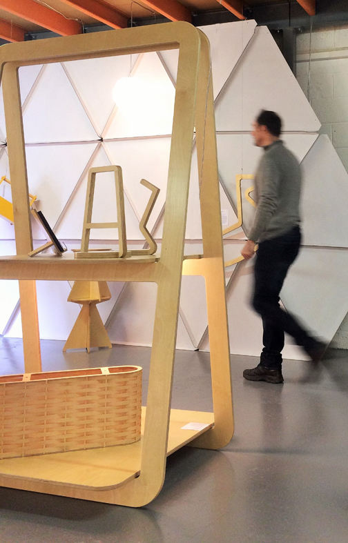 Exhibition Stand Frame : A frame exhibition stand & workstation on behance