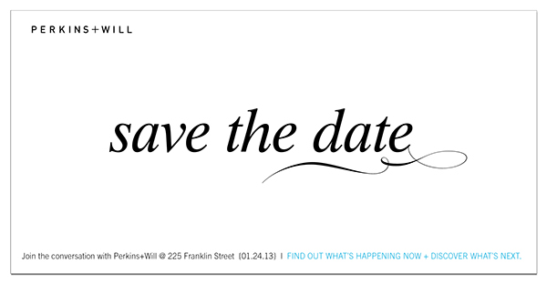 save the date and party invitation email on behance