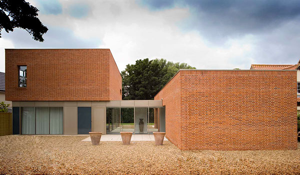 Brick house alex franklin for james gorst architects on behance - Brick houses three beautiful economical projects ...
